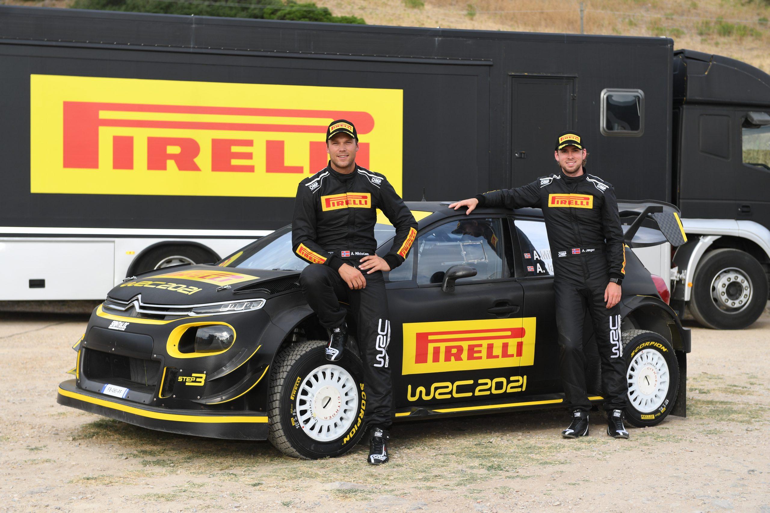 Pirelli inicia o programa de testes com os pneus do WRC 2021 na Sardenha