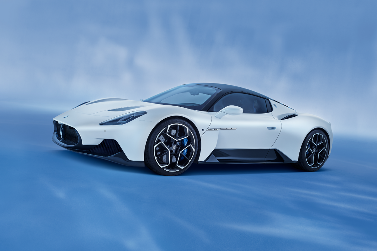 A Bridgestone desenvolve pneus Potenza sob medida para o regresso da Maserati aos supercarros: o MC20